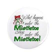 """What Happens Under The Mistletoe 3.5"""" Button"""