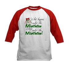 What Happens Under The Mistletoe Tee