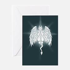 Guardian Angel Dragon Greeting Cards