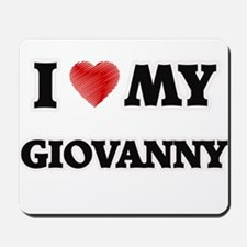I love my Giovanny Mousepad