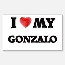 I love my Gonzalo Decal