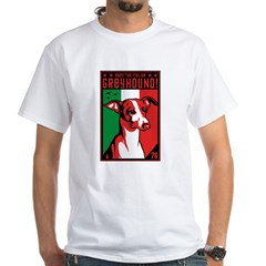 Obey the Italian Greyhound! 1 sided t-shirt