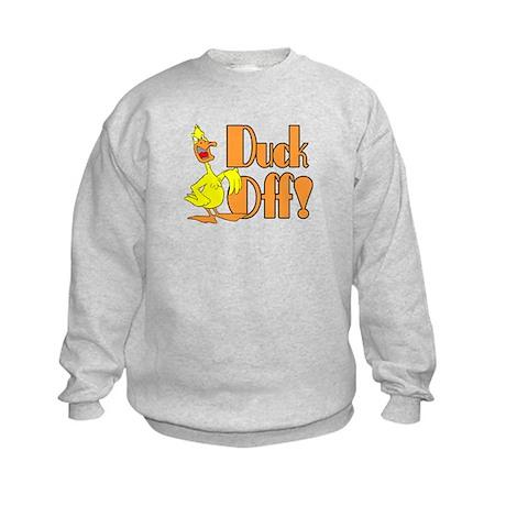 Duck Off Kids Sweatshirt
