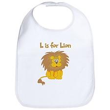 L is for Lion Bib