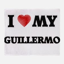 I love my Guillermo Throw Blanket