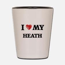 I love my Heath Shot Glass