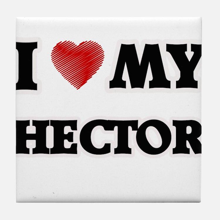 I love my Hector Tile Coaster