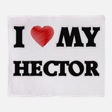 I love my Hector Throw Blanket