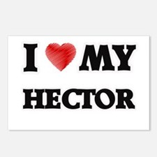 I love my Hector Postcards (Package of 8)