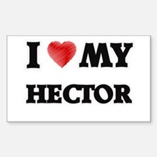 I love my Hector Decal