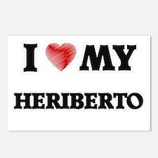 I love my Heriberto Postcards (Package of 8)