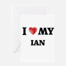 I love my Ian Greeting Cards