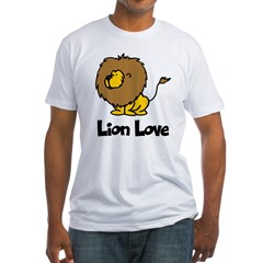Lion Love Fitted T-Shirt