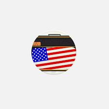 USA Rock Amplifier Mini Button