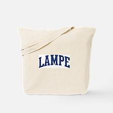 LAMPE design (blue) Tote Bag