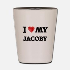 I love my Jacoby Shot Glass
