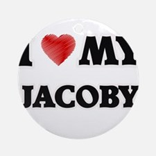 I love my Jacoby Round Ornament