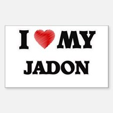 I love my Jadon Decal