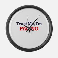 Trust Me, I'm Pacino Large Wall Clock