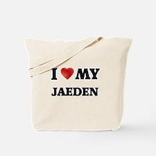 I love my Jaeden Tote Bag