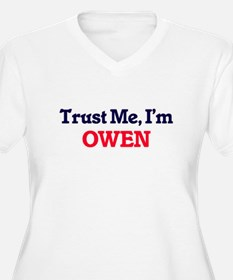 Trust Me, I'm Owen Plus Size T-Shirt