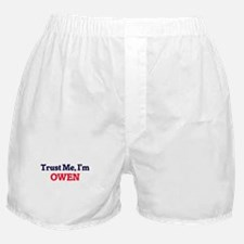 Trust Me, I'm Owen Boxer Shorts