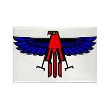 Indian Eagle Totem Rectangle Magnet