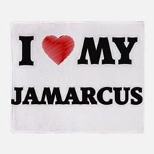 I love my Jamarcus Throw Blanket