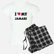 I love my Jamari pajamas