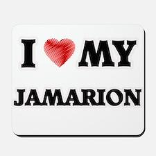 I love my Jamarion Mousepad