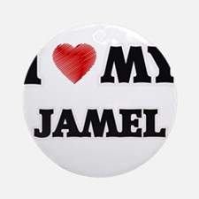 I love my Jamel Round Ornament