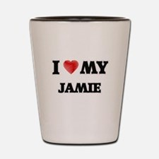 I love my Jamie Shot Glass