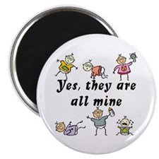 All Mine (6 Kids) Magnet