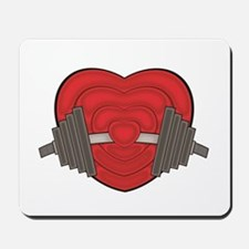 Love weights Mousepad