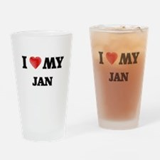 I love my Jan Drinking Glass