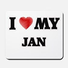 I love my Jan Mousepad