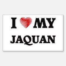 I love my Jaquan Decal