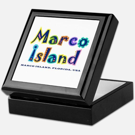 Tropical Marco Island -  Keepsake Box