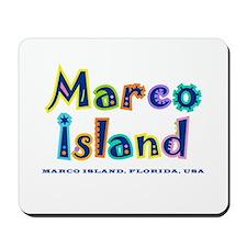 Tropical Marco Island -  Mousepad