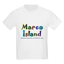 Tropical Marco Island -  T-Shirt