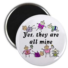 All Mine (7 Kids) Magnet