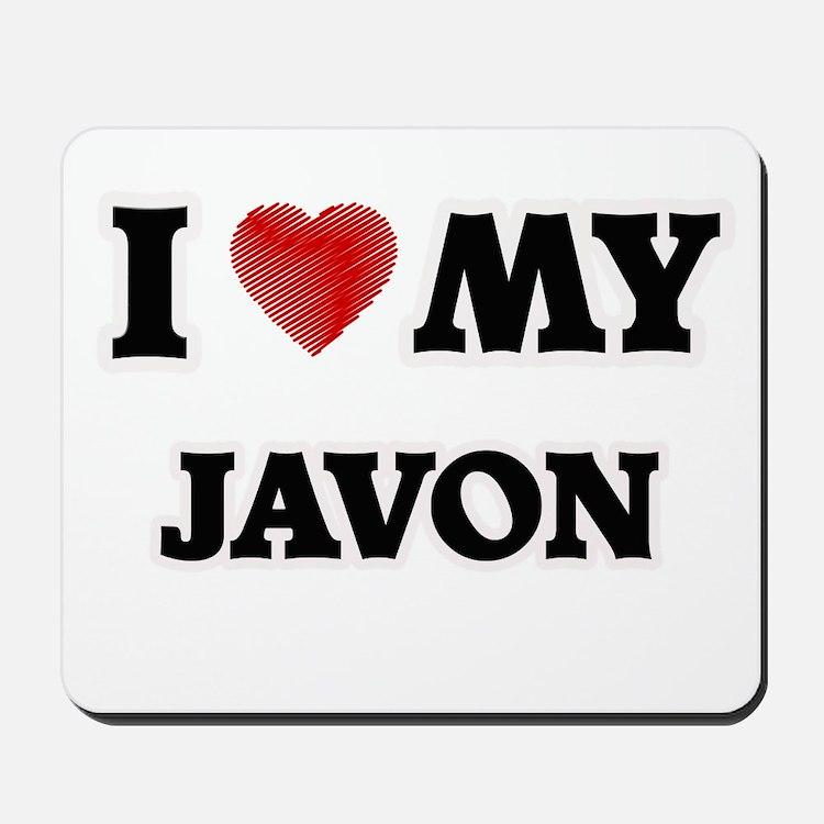 I love my Javon Mousepad