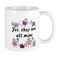 All Mine (7 Kids) Mug