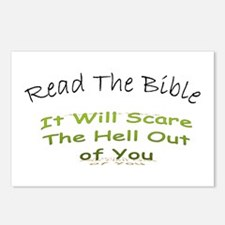 Funny Religious humor Postcards (Package of 8)