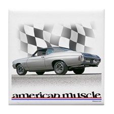 Chevelle SS Muscle Tile Coaster
