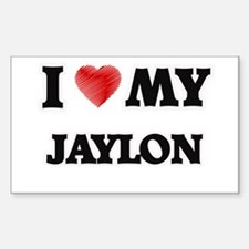I love my Jaylon Decal