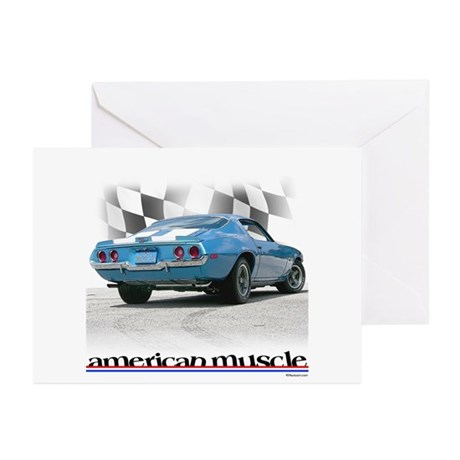 ZLT1 Muscle Greeting Cards (Pk of 10)