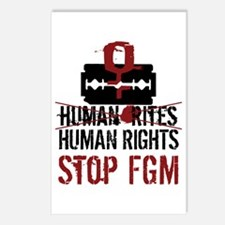 Stop FGM Postcards (Package of 8)