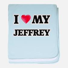 I love my Jeffrey baby blanket