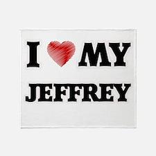 I love my Jeffrey Throw Blanket